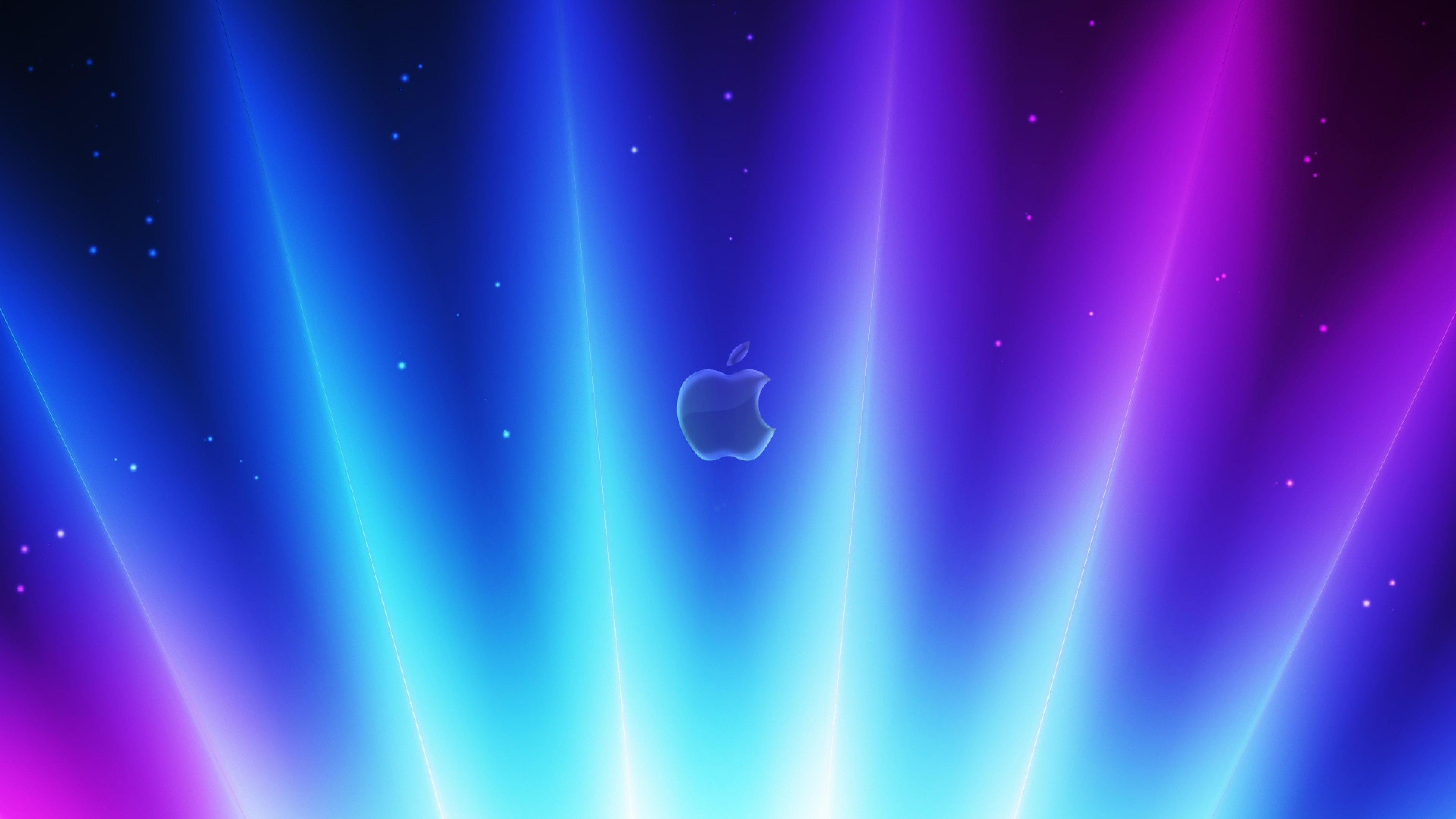 Wallpaper 3840x2160 app storm apple mac shimmer lilac blue 4K 3840x2160