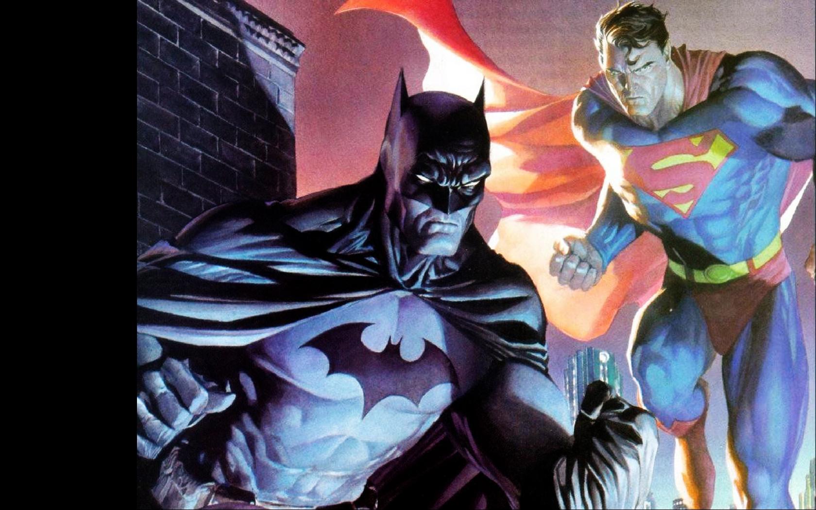 batman and superman wallpaper by spitfire666xxxxx d31h2d4 1680x1050