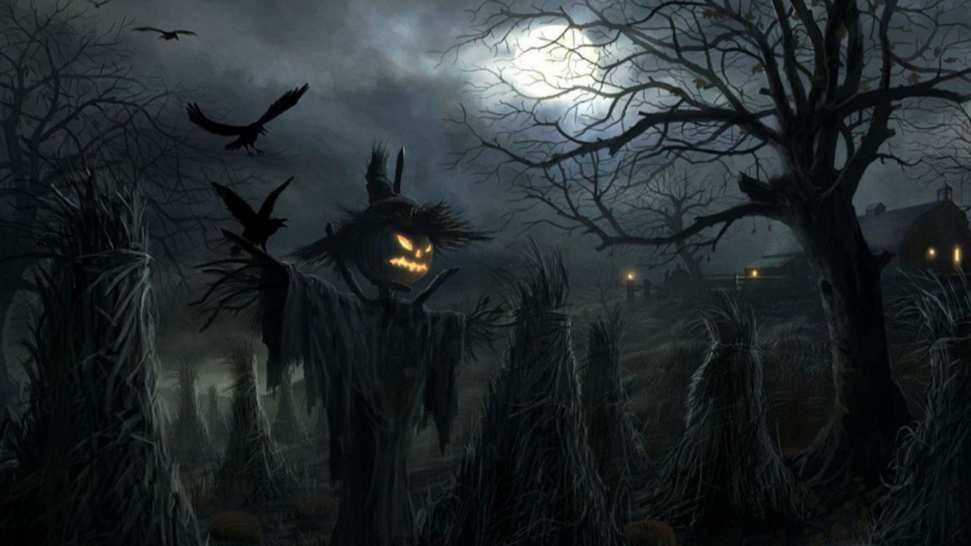 wallpapers halloween scarecrow gallery 1920x1080 1920x1080