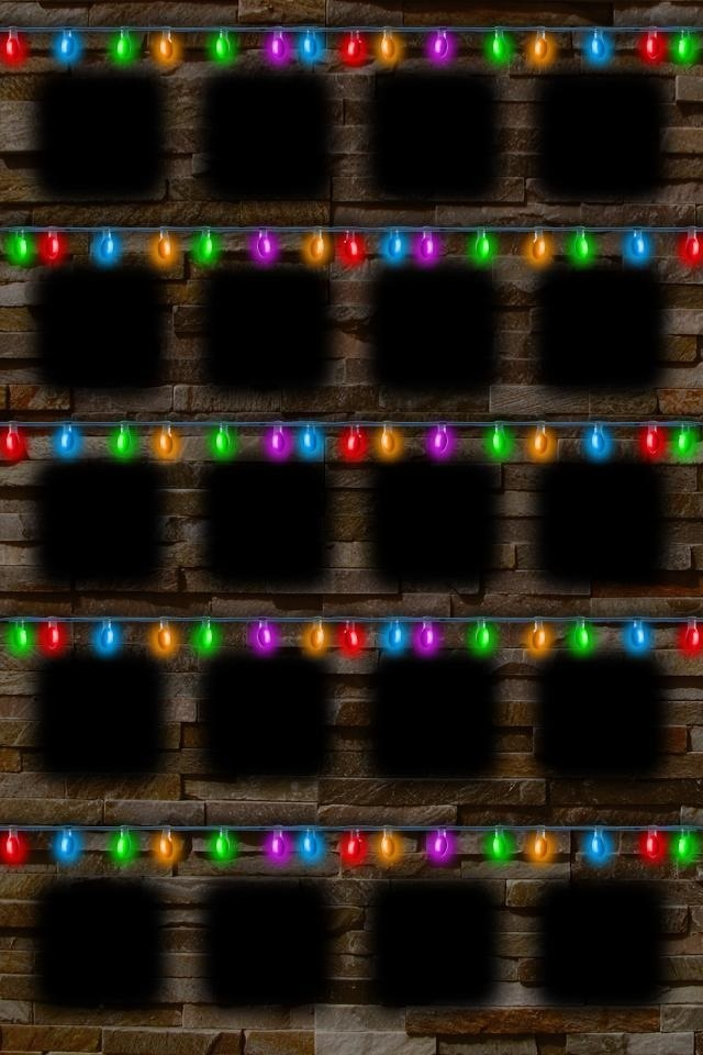 Christmas Tree Lights Wallpaper