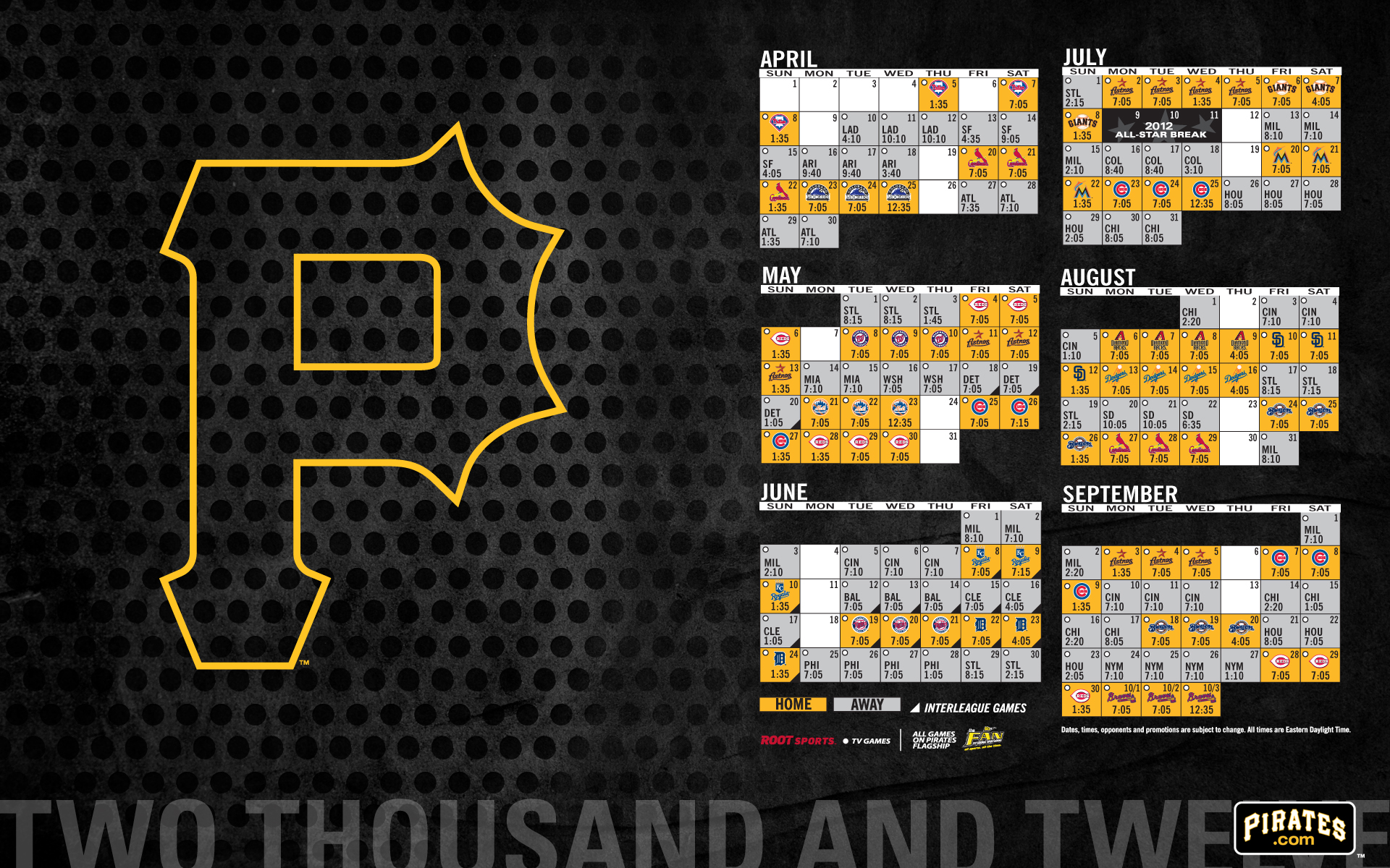 Pittsburgh Pirates Desktop Wallpaper 1920x1200