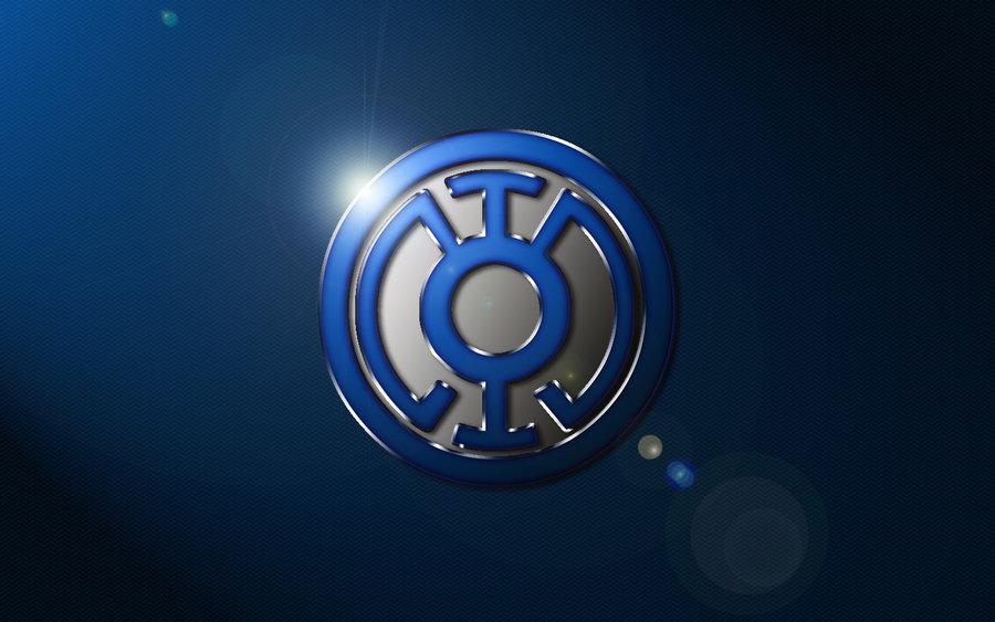 Blue Lantern Logo Wallpaper by SUPERMAN3D 900x563