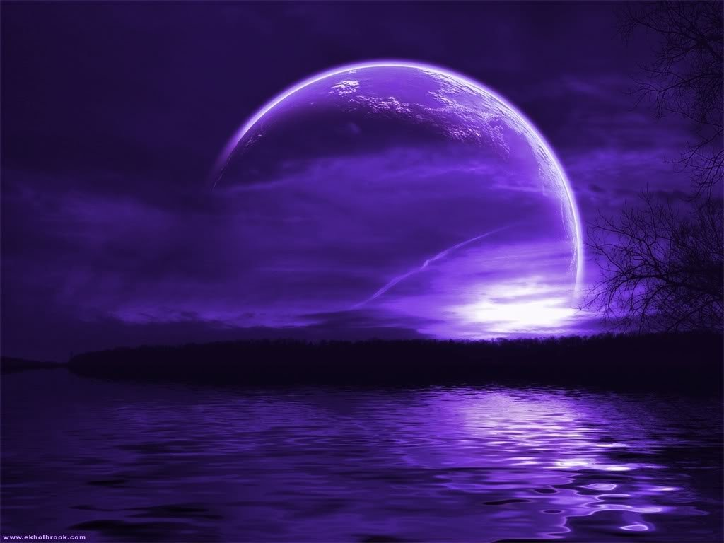 Purple Moon Wallpaper 2312 Hd Wallpapers in Space   Imagescicom 1024x768