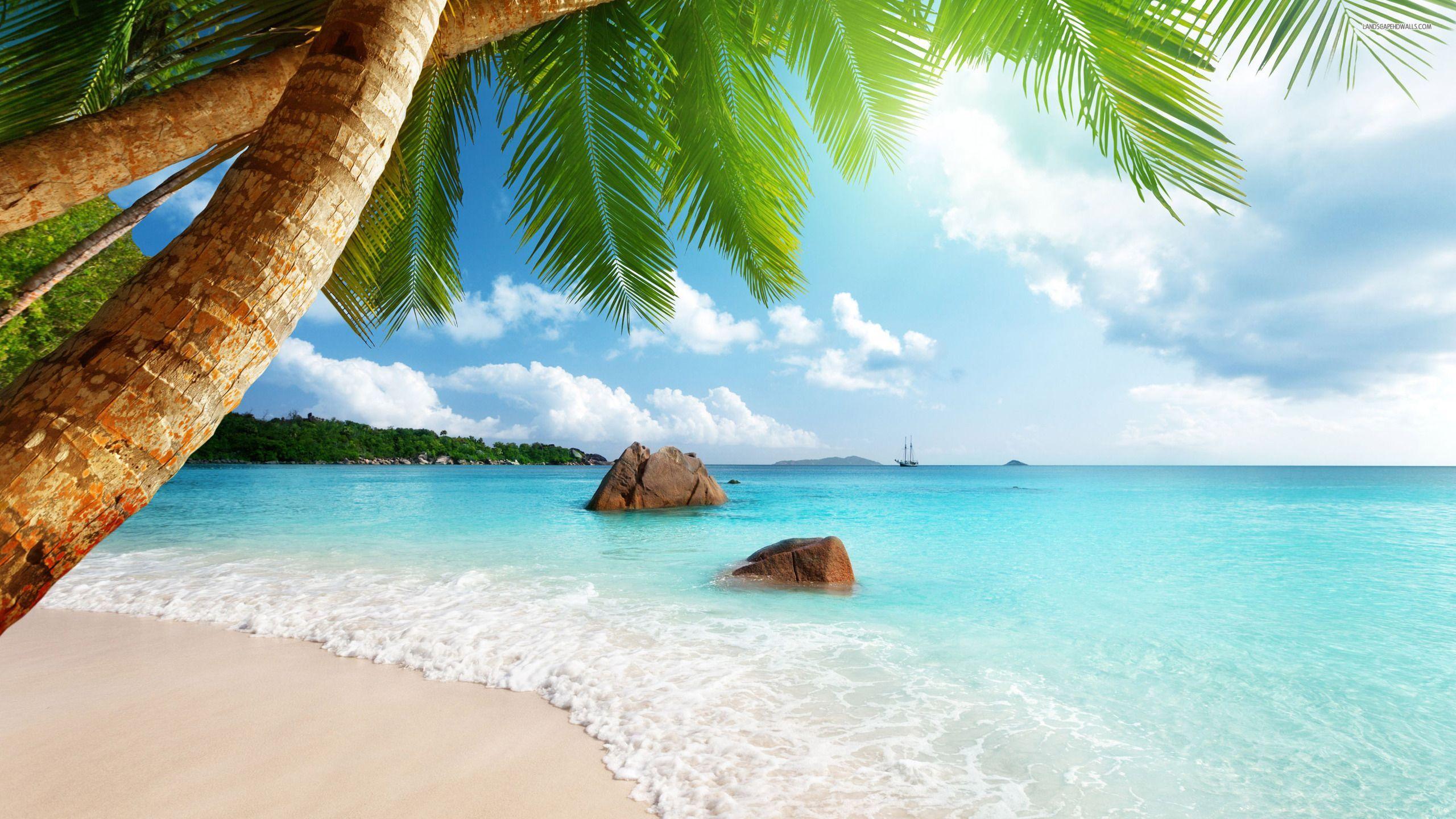 Hi Res Beach Wallpapers   Top Hi Res Beach Backgrounds 2560x1440