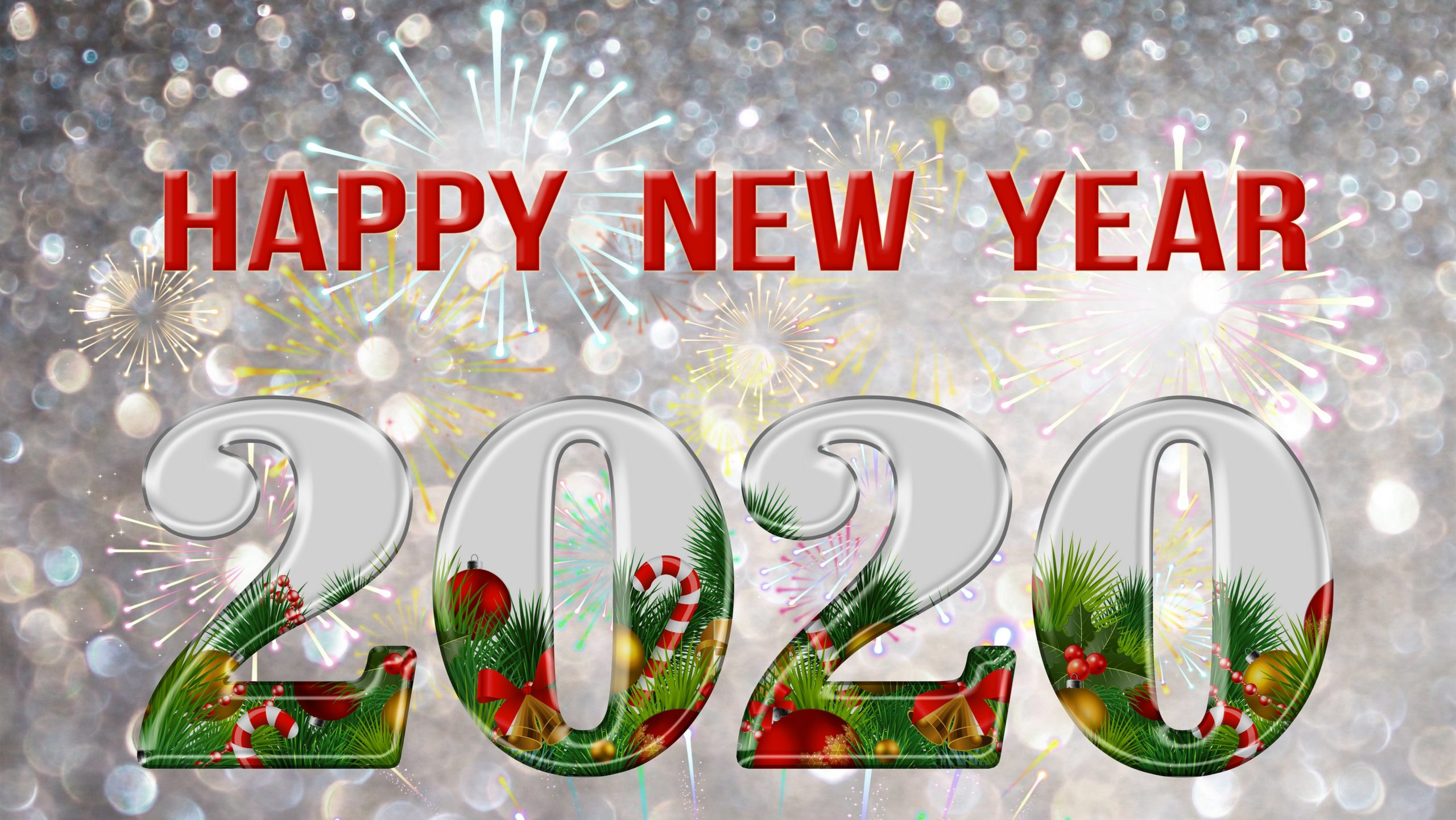 14 Fireworks Happy New Year 2020 Wallpapers High Quality Pictures 2560x1441