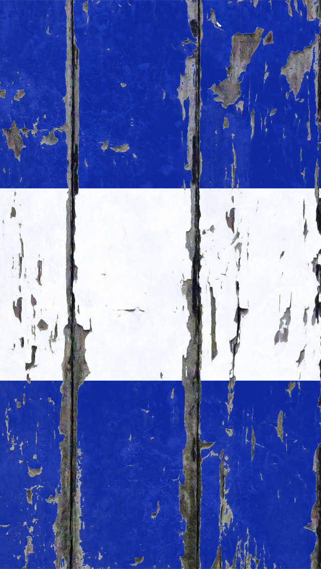 iPhone 5 Wallpaper Sports weathered wood blue flag 640x1136