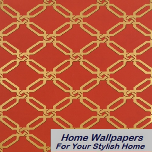 Thibaut Wallpaper   Anniversary   Links T6070 Red 500x500