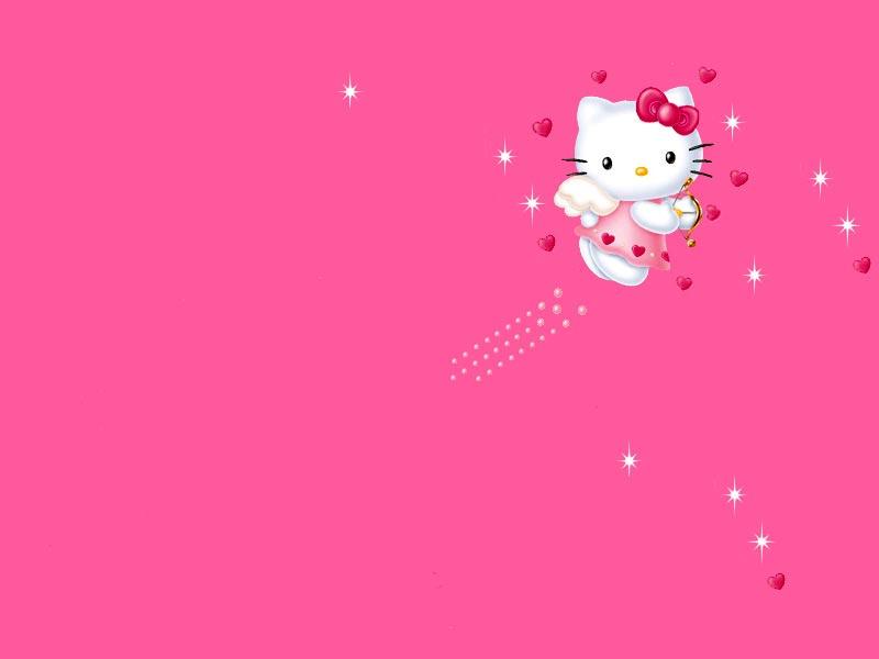75 Hello Kitty Pink Wallpaper On Wallpapersafari