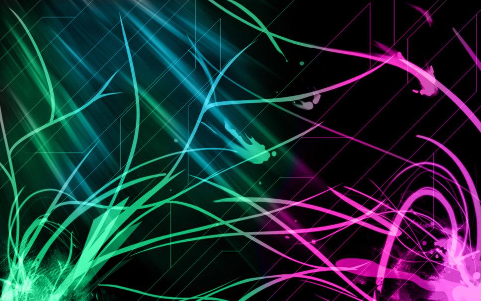 Neon Animal Wallpaper Neon hd Pattern Wallpaper 968x606