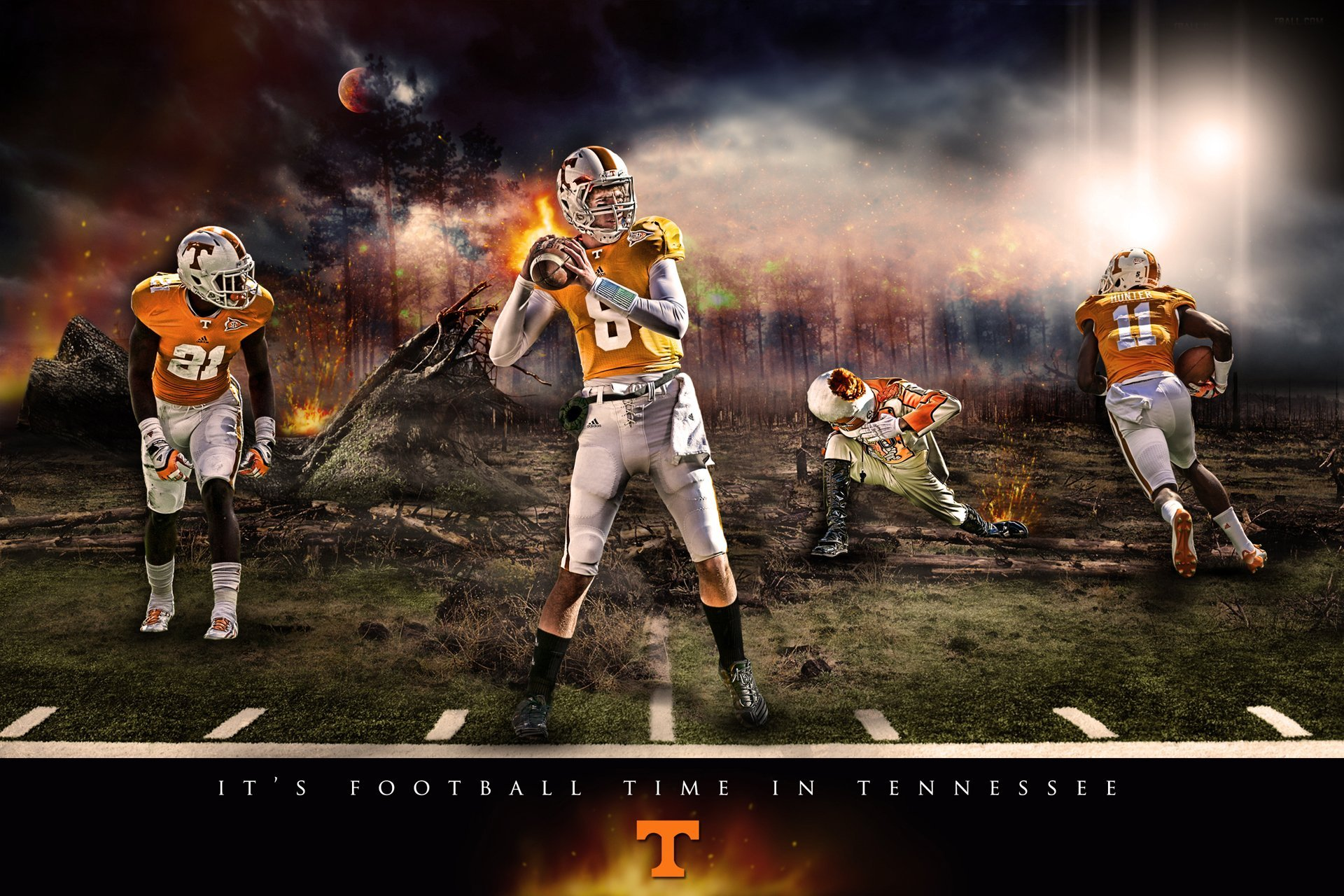 TENNESSEE VOLUNTEERS football college wallpaper 1920x1280 595866 1920x1280