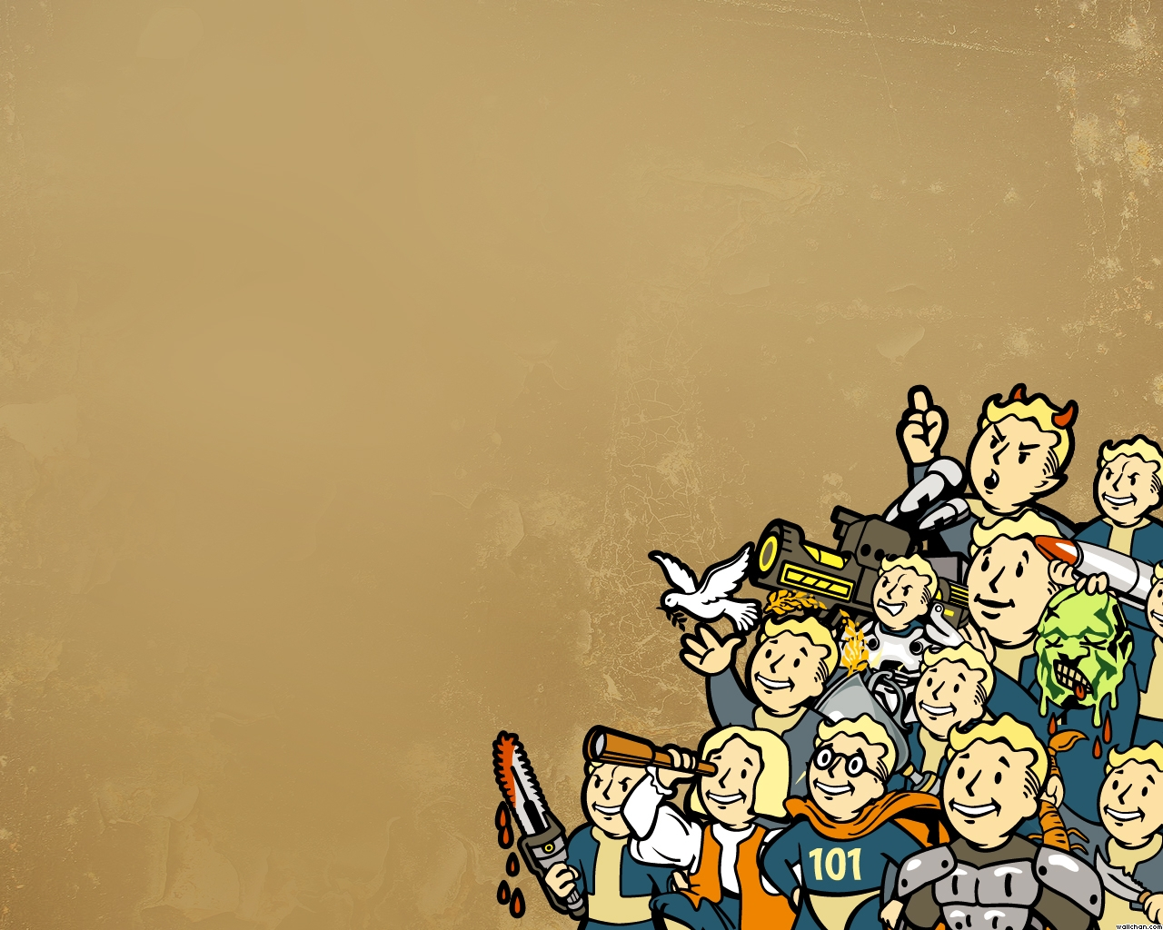Fallout wallpaper 1280x1024