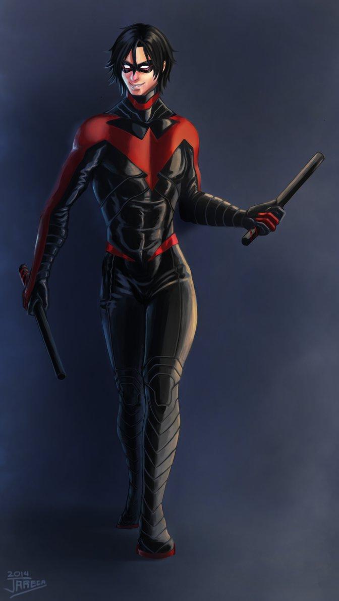 New 52 Nightwing Wallpaper - WallpaperSafari