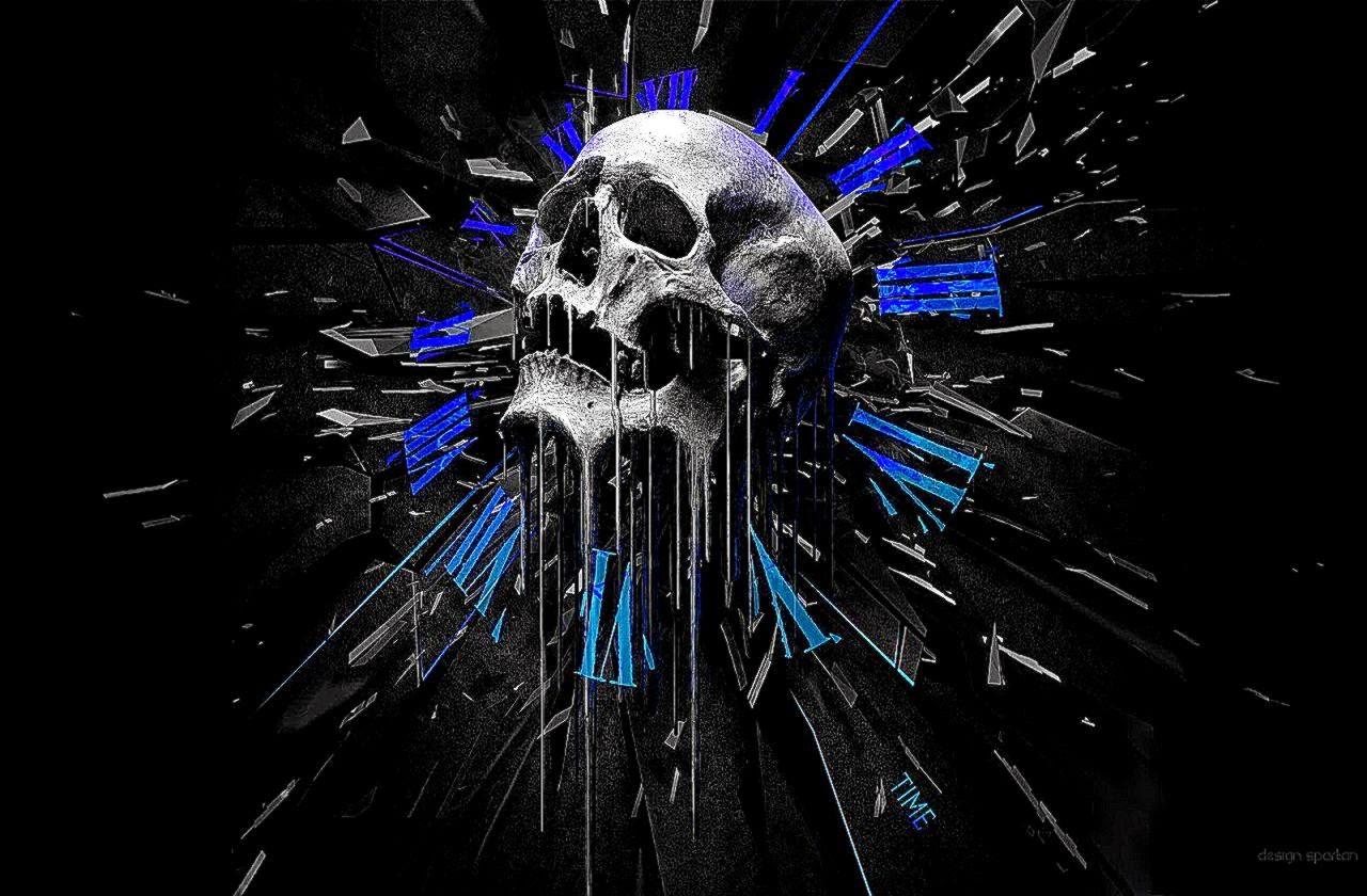 Skull 3d Wallpaper: Skull Art Wallpaper