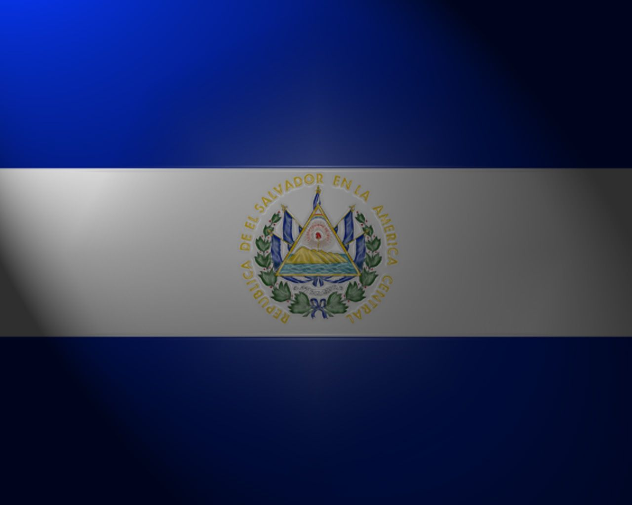 Free Download El Salvador Flag Wallpapers 1280x1024 For Your