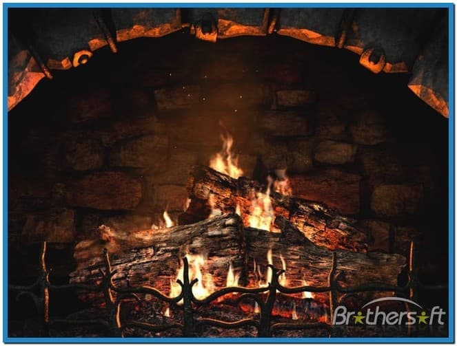 Fireplace 3d Screensaver And Animated Wallpaper 663x503
