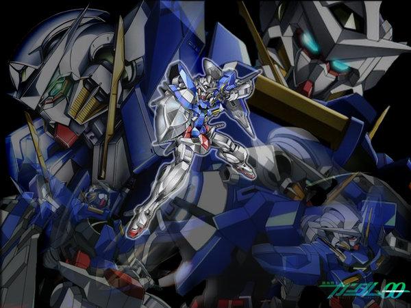 Gundam 00 Exia Wallpaper Gundam 00 exia by renick4unick 600x450