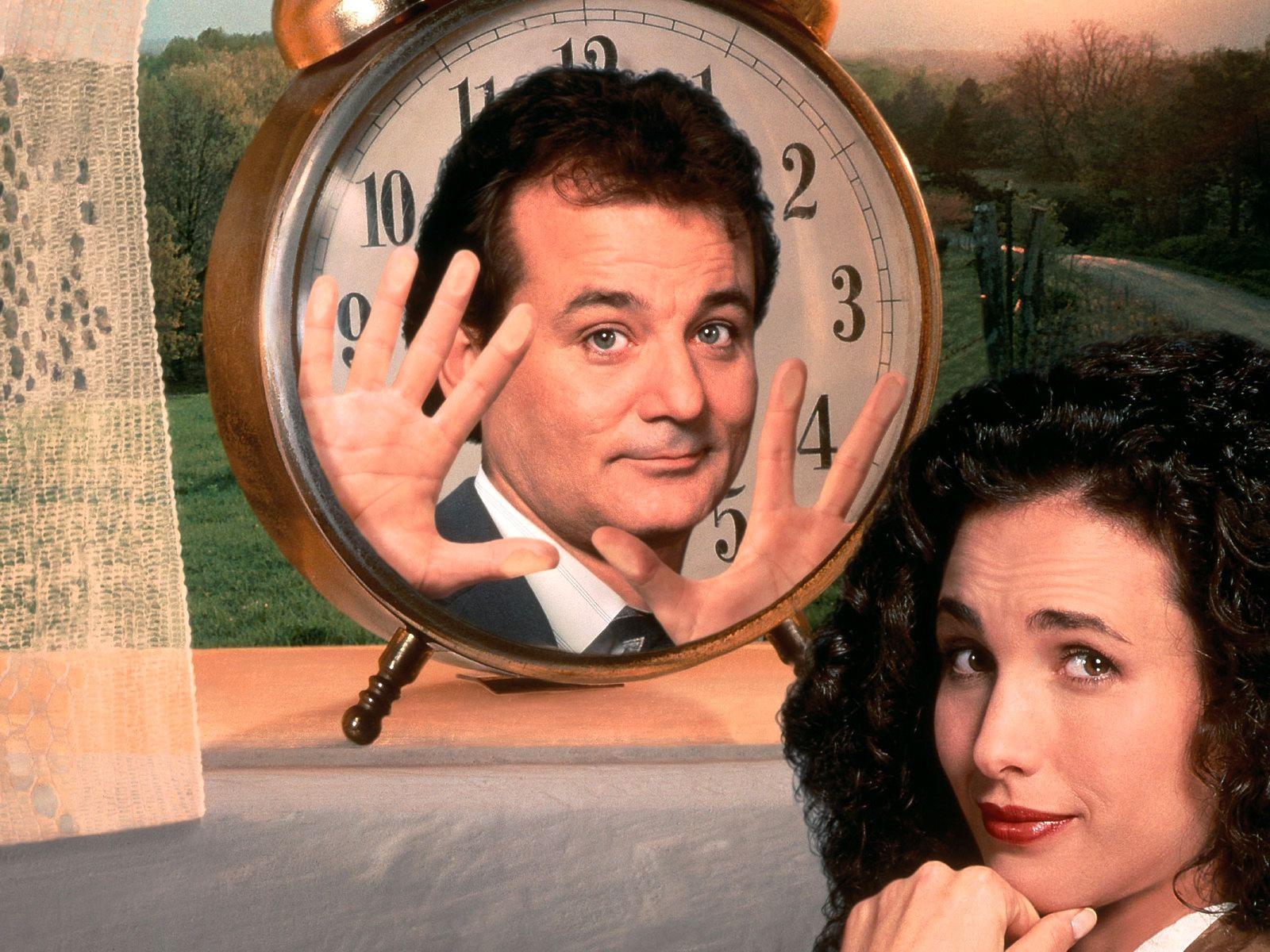 Wallpaper Man Bill Murray Groundhog Day Movies 1600x1200
