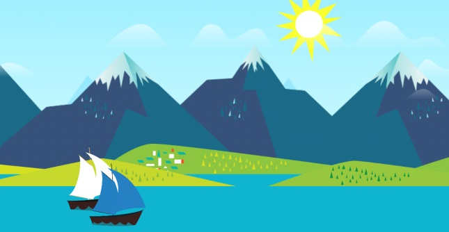 New live wallpaper inspired by the mountains from Google Now 645x334