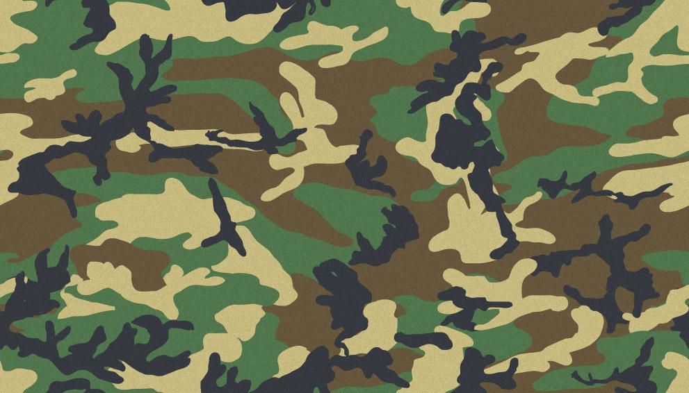 Camouflage Patterns for Illustrator Photoshop 991x566