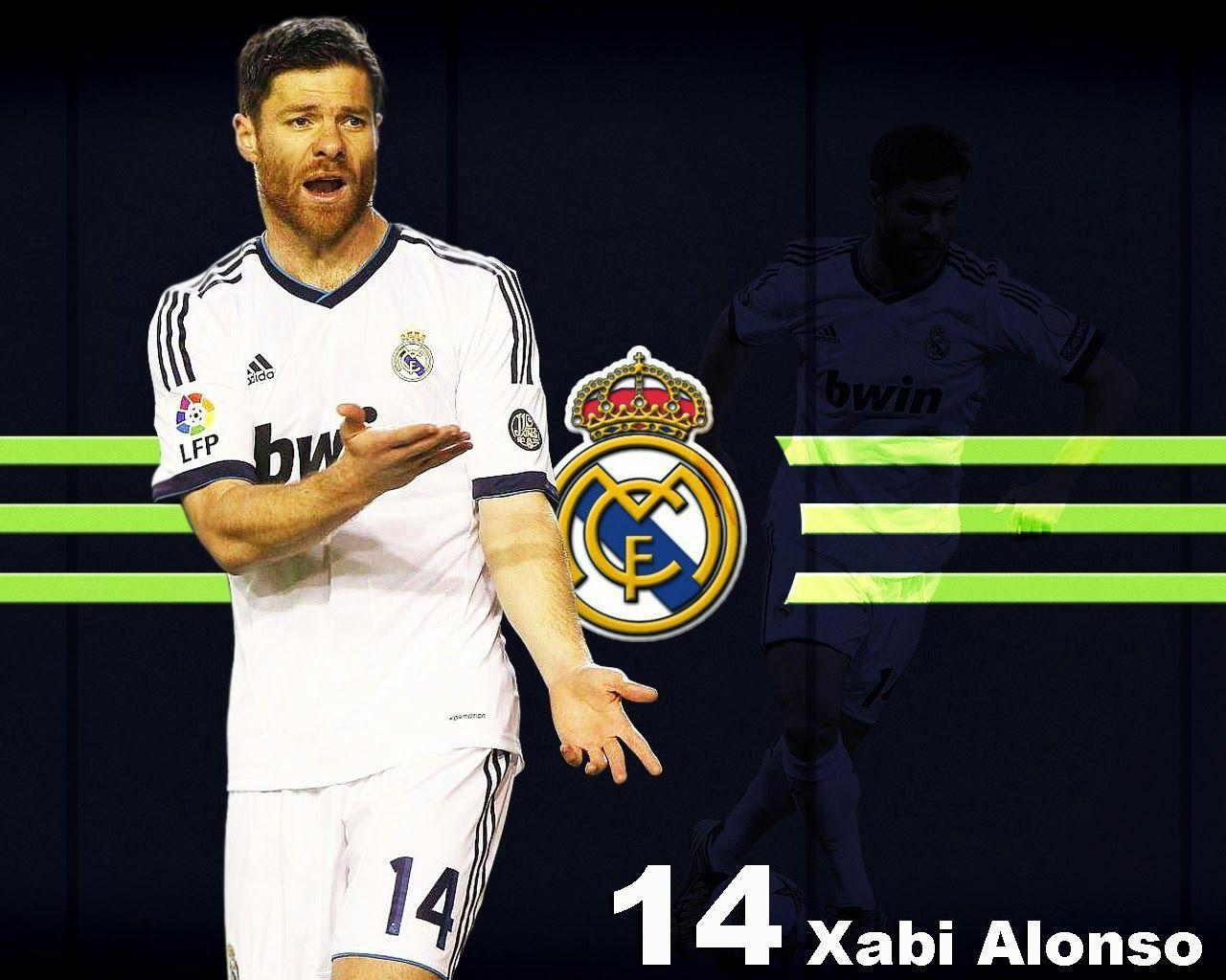 Xabi Alonso Real Madrid Wallpapers 1280x1024