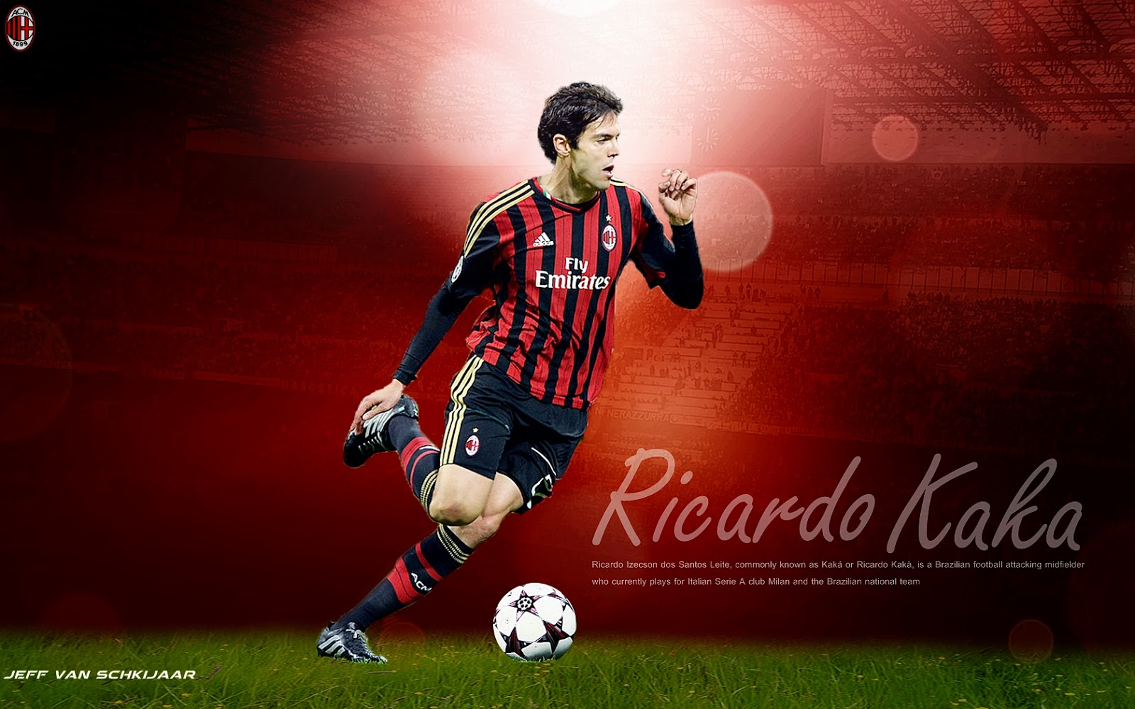 Kaka Wallpapers and Background Images   stmednet 1600x1000