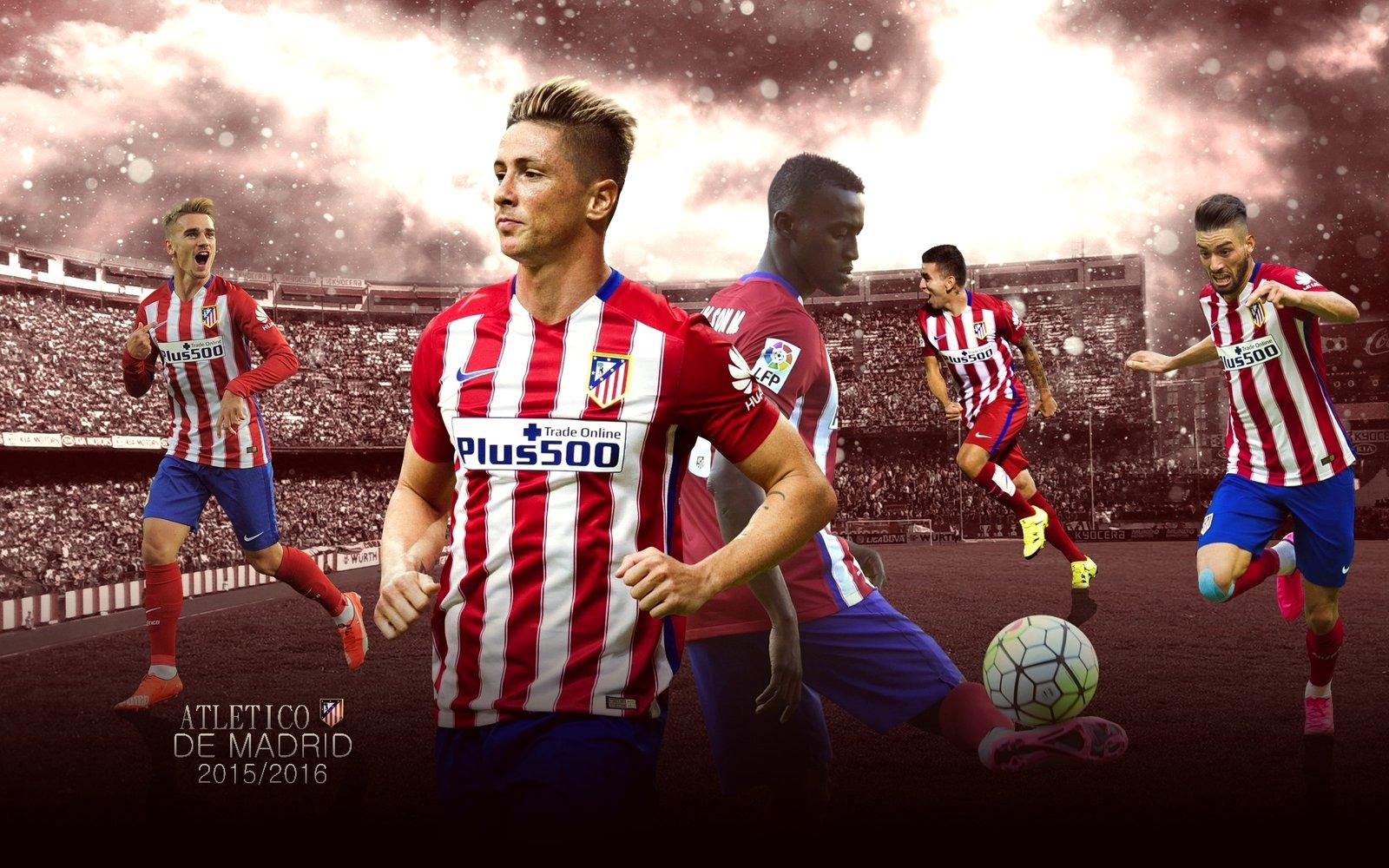 Atletico Madrid Wallpaper 2015 16 by ChrisRamos4 1600x1000