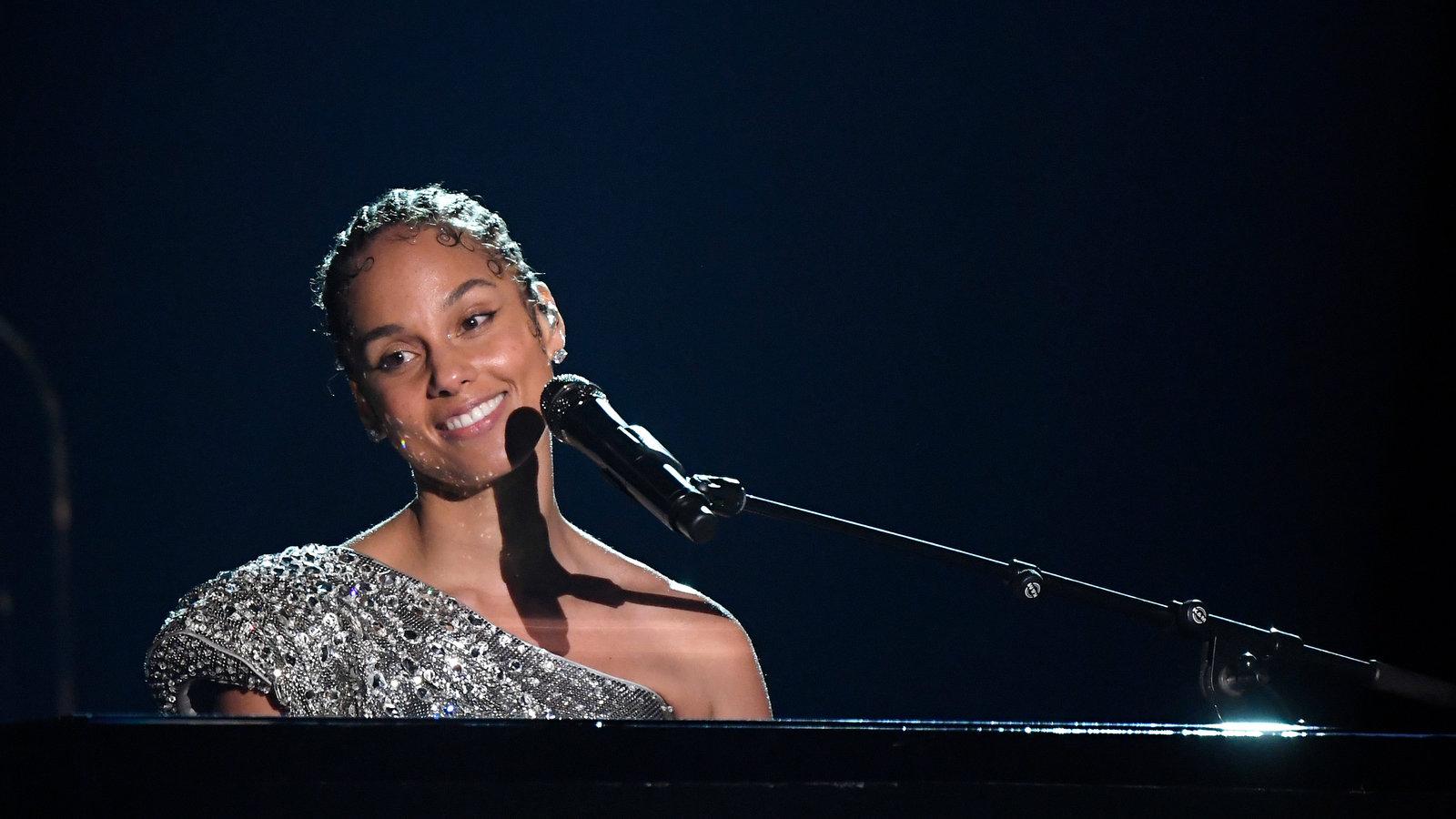 Alicia Keys Seems to Reference Grammys Turmoil in Speech   The New 1600x900