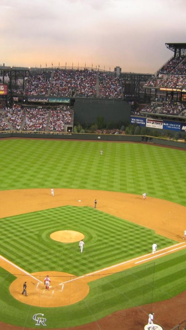 Baseball stadium wallpaper wallpapersafari for Baseball stadium mural wallpaper