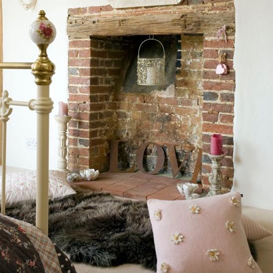 Fur Wallpaper For Bedrooms Cosy fireplace area Bedroom Cosy 550x550