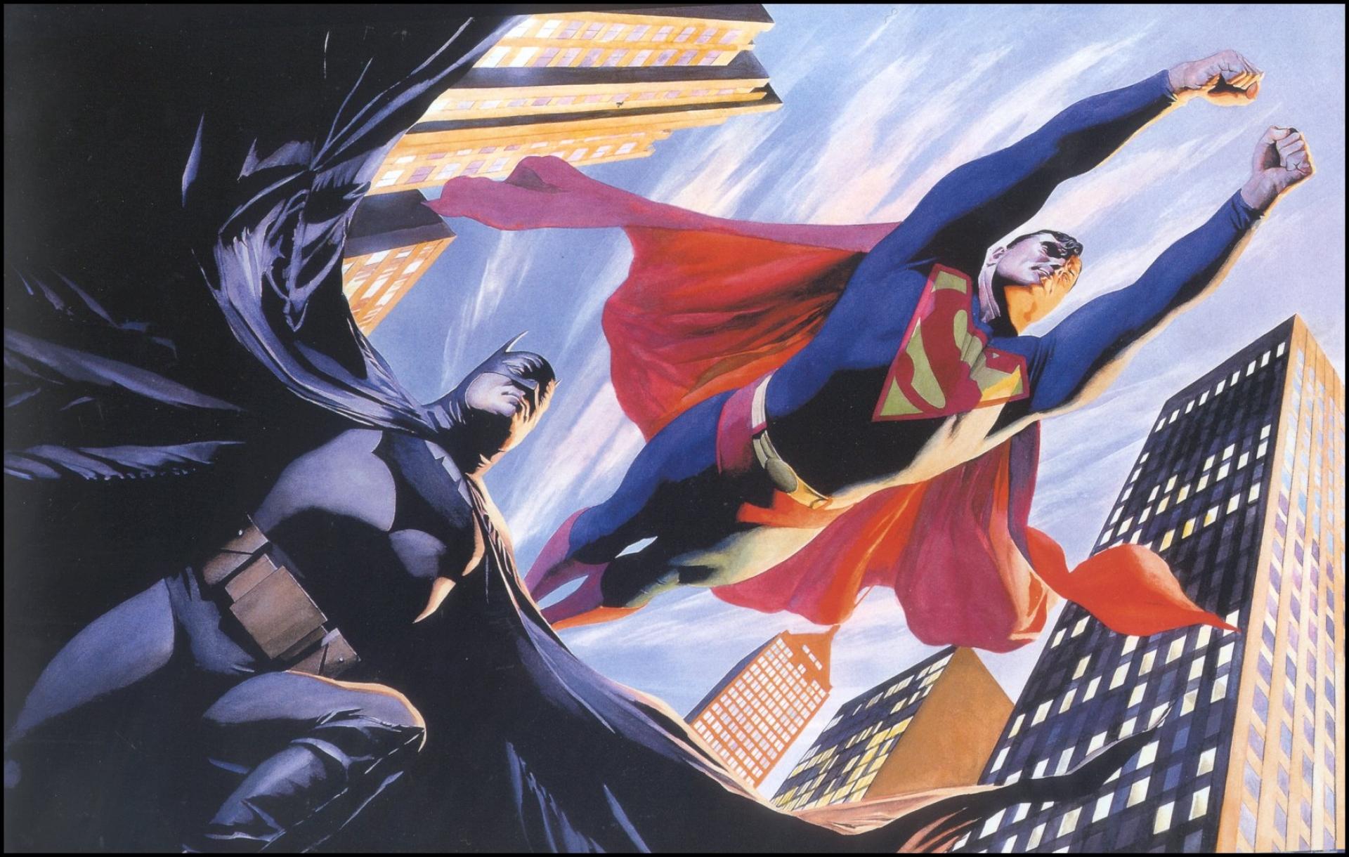 Batman And Superman Wallpaper Background HD Download Wallpapers 1920x1220