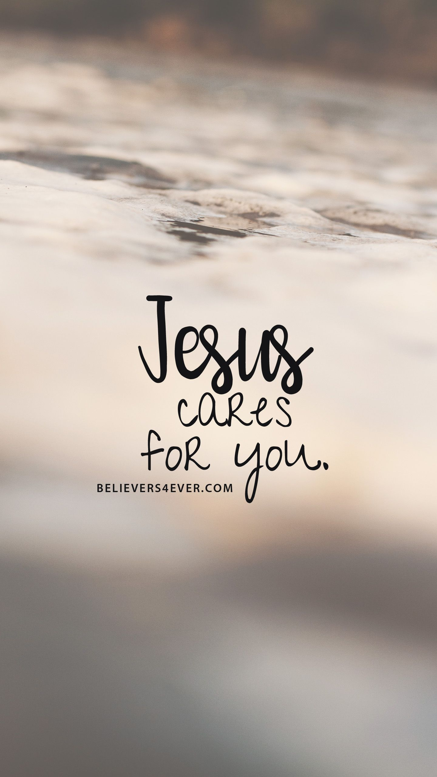 Jesus cares for you Quotes wallpaper for mobile Bible verse 1440x2561
