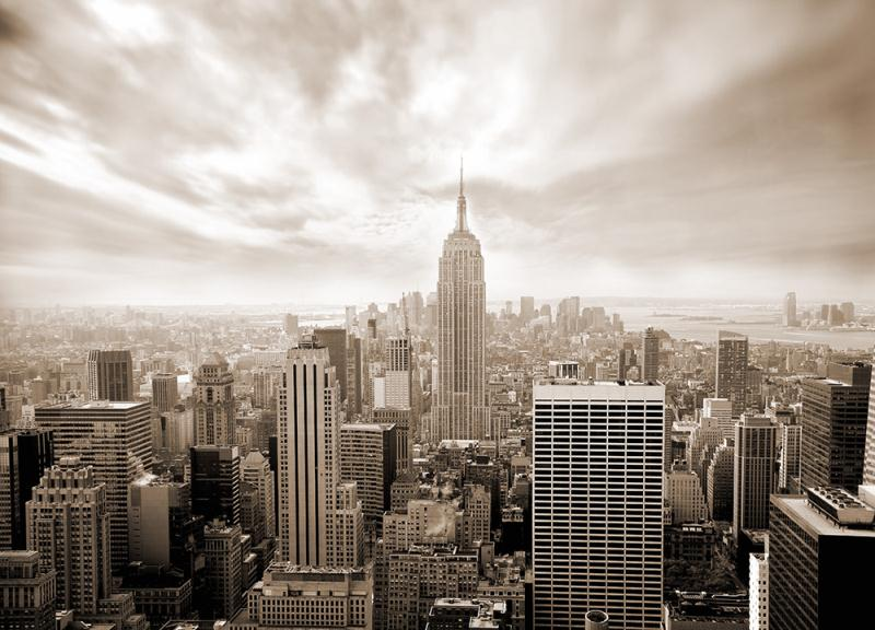 Wall Mural SKYLINE NEW YORK CITY photo Wallpaper for wall CITYSCAPE 800x576