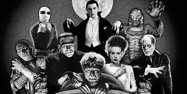 Classic Movie Monsters Wallpaper Universalmonsterstogetherjpg 656x329