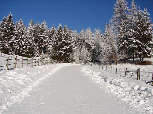 Pin Country Winter Scenes Wallpaper Log In 500x375