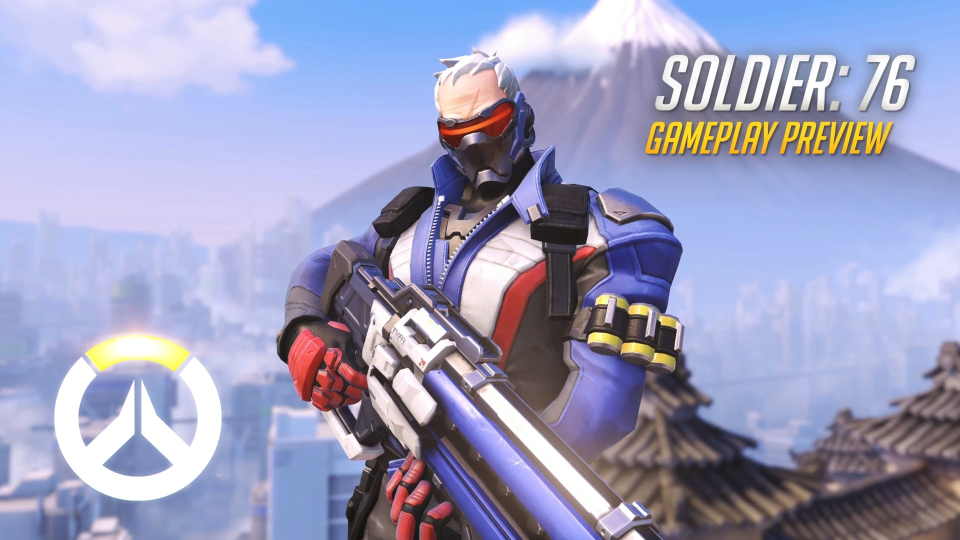 Free download Overwatch Soldier 76 Gameplay Preview