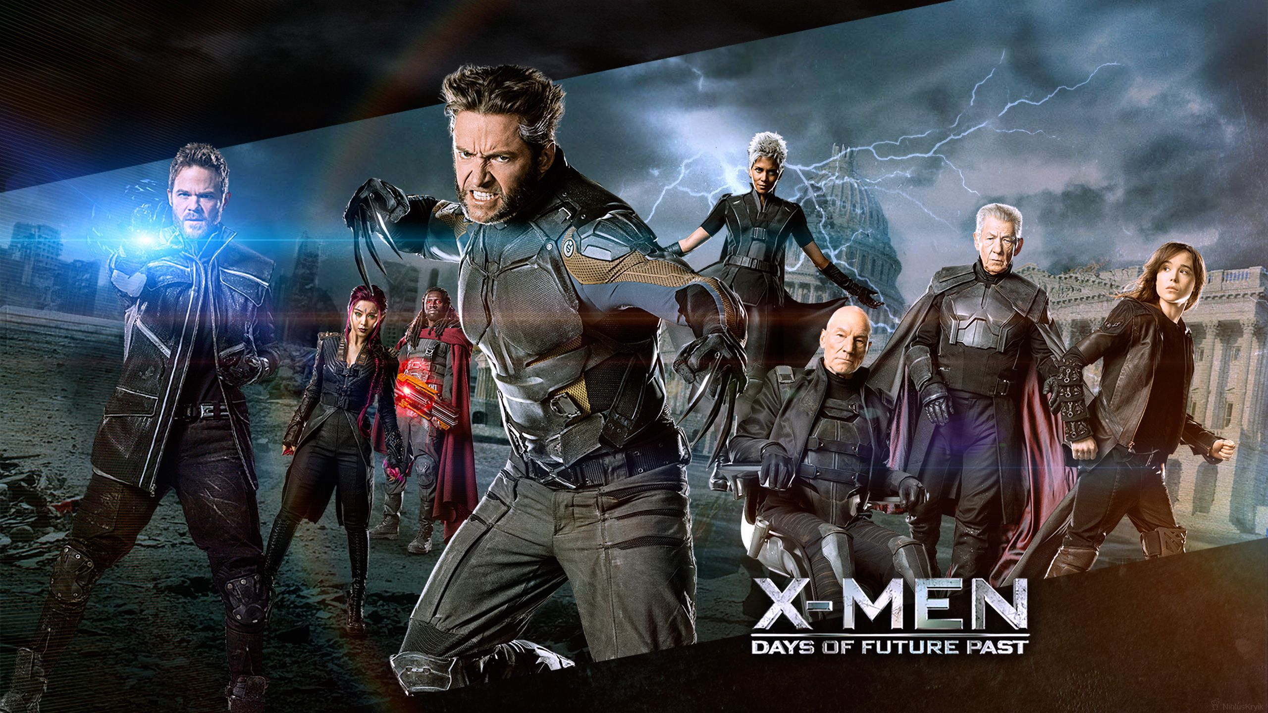 X Men Days Of Future Past Wallpapers 2560x1440