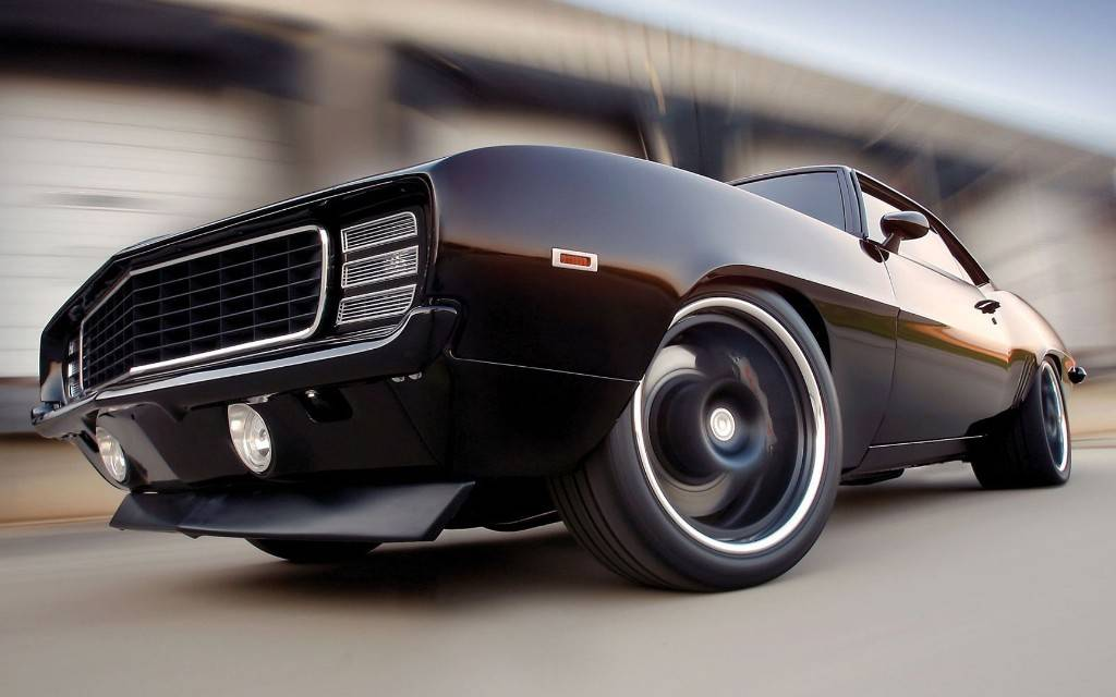 Classic Monster car of Chevrolet Camaro Wallpaper   Cars Picture 1024x640