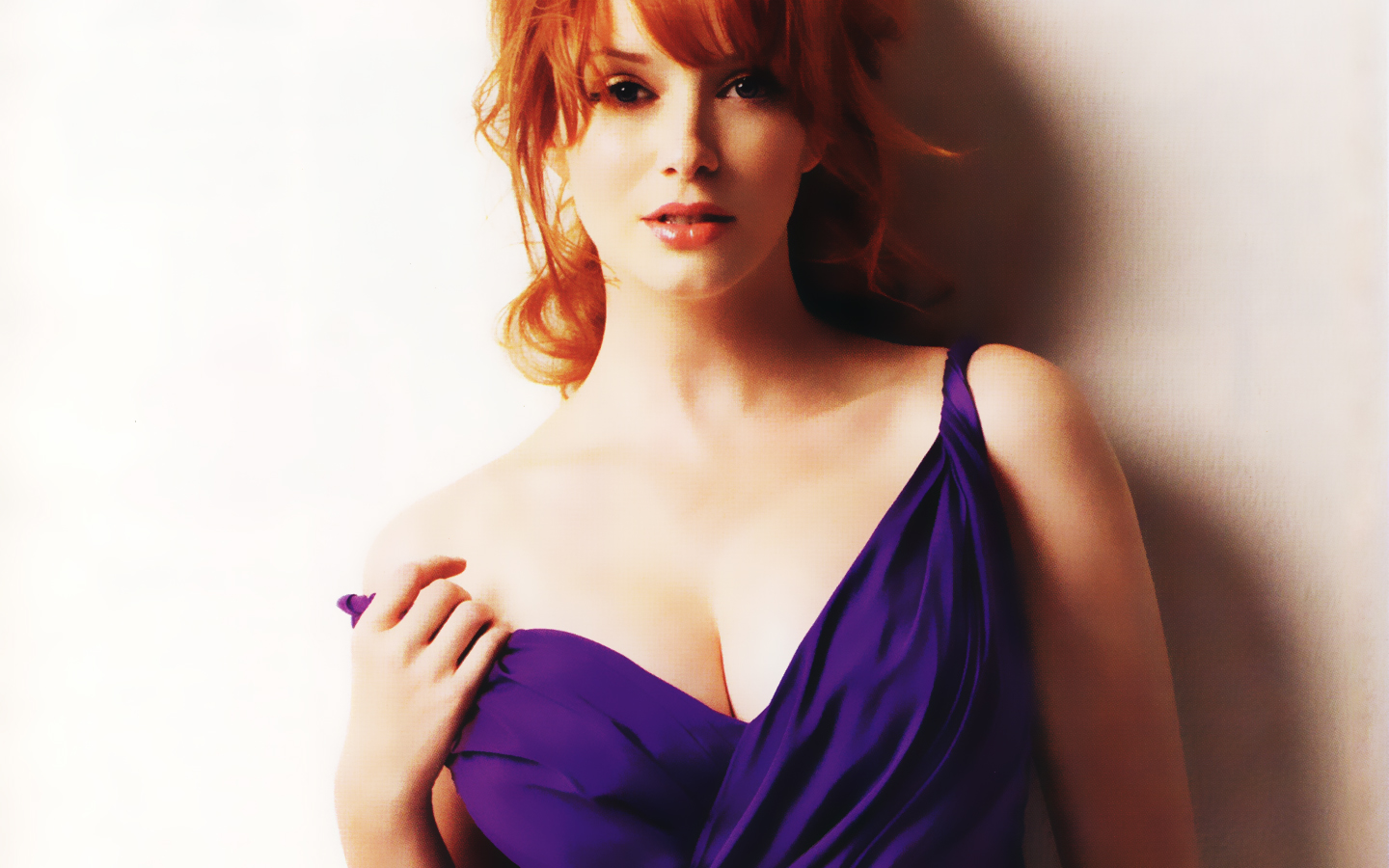 Christina Hendricks HD Wallpapers Duvar Katlar Desktop 1440x900