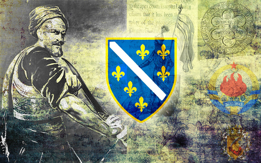 download Bosnian Flag Ljiljan Bosnian history wallpaper by 900x563