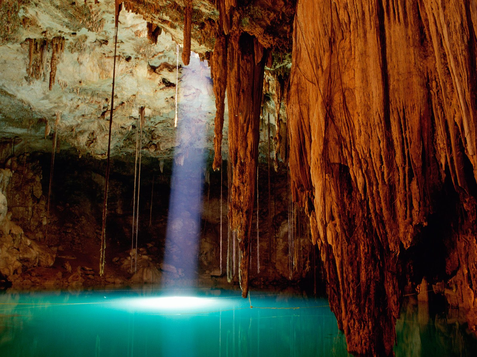Cenote Dzitnup Mexico Wallpapers HD Wallpapers 1600x1200