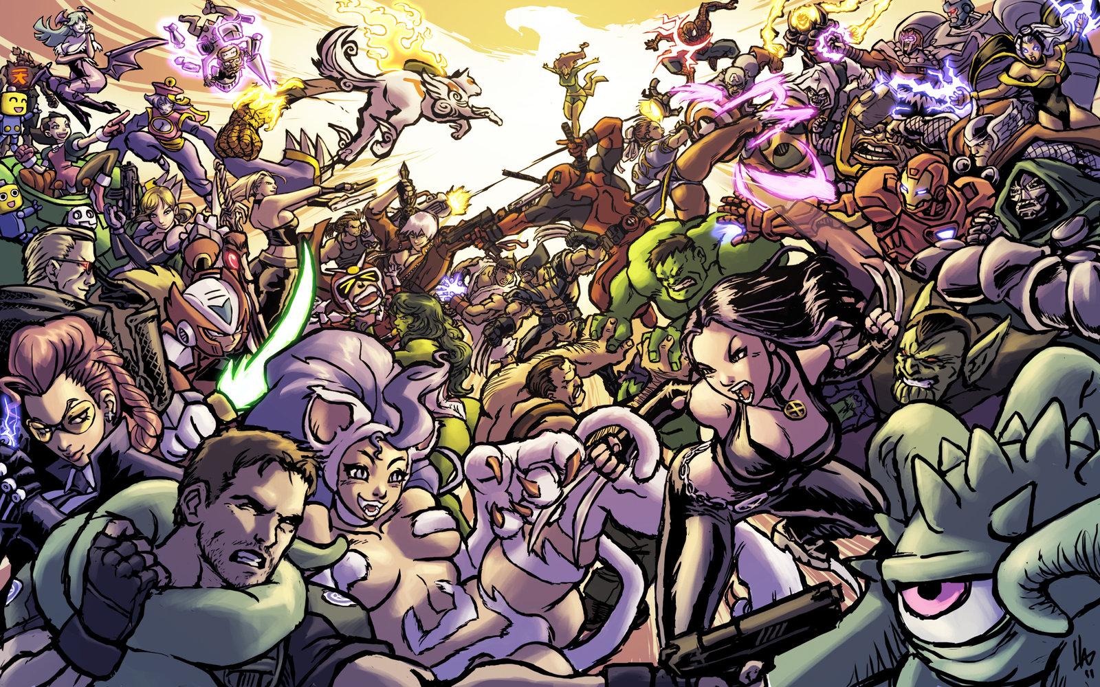 Free Download Fan Made Marvel Vs Capcom 3 Art Is Perfect As Your