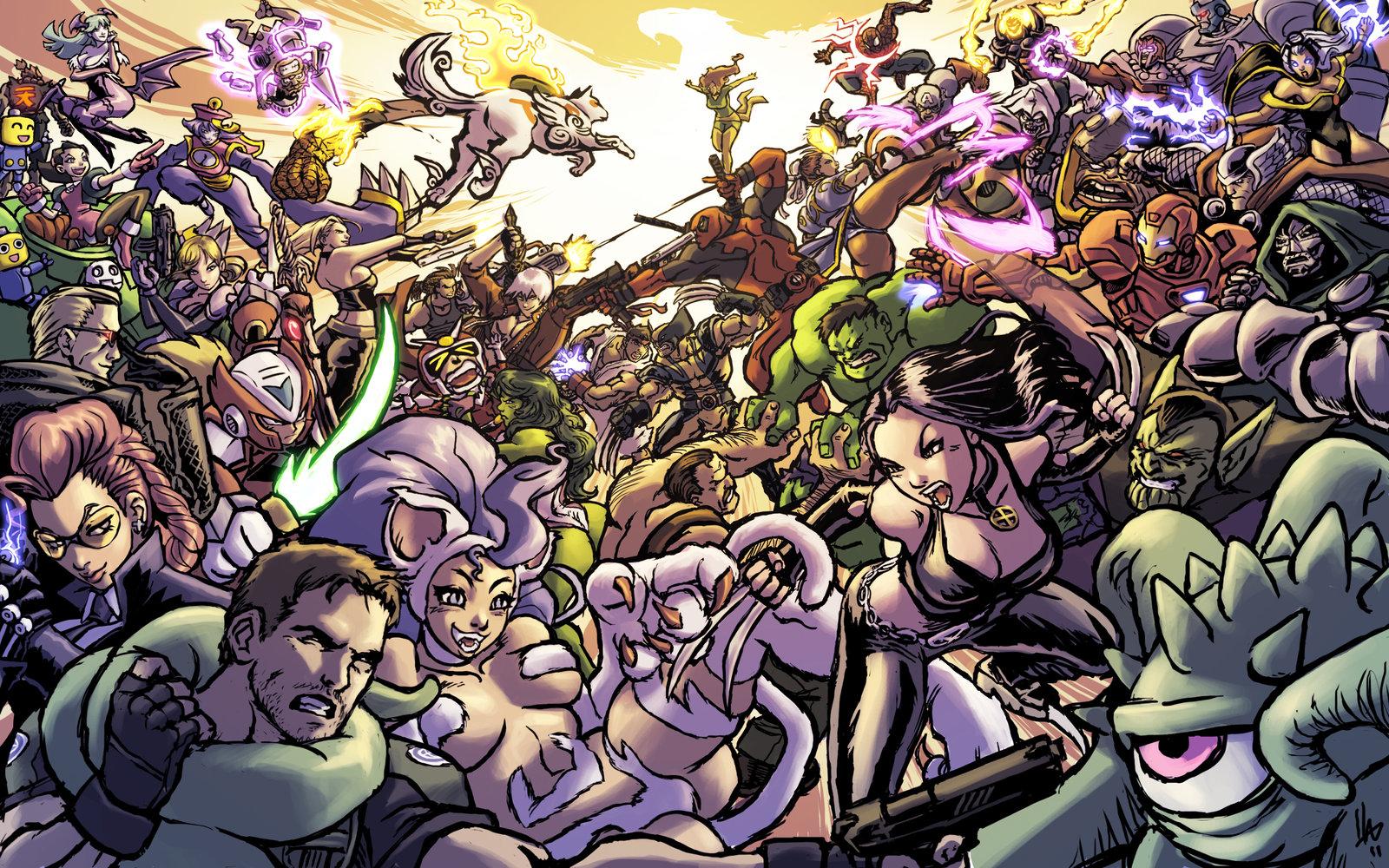 Marvel Vs Capcom 3 Wallpaper - WallpaperSafari