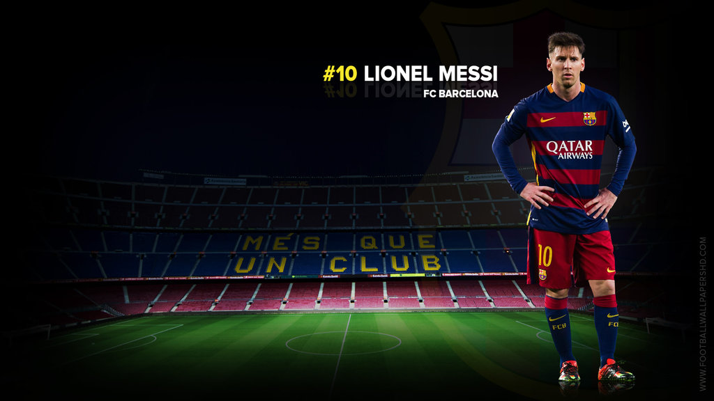 Lionel Messi FC Barcelona 20152016 Wallpaper by 1024x576