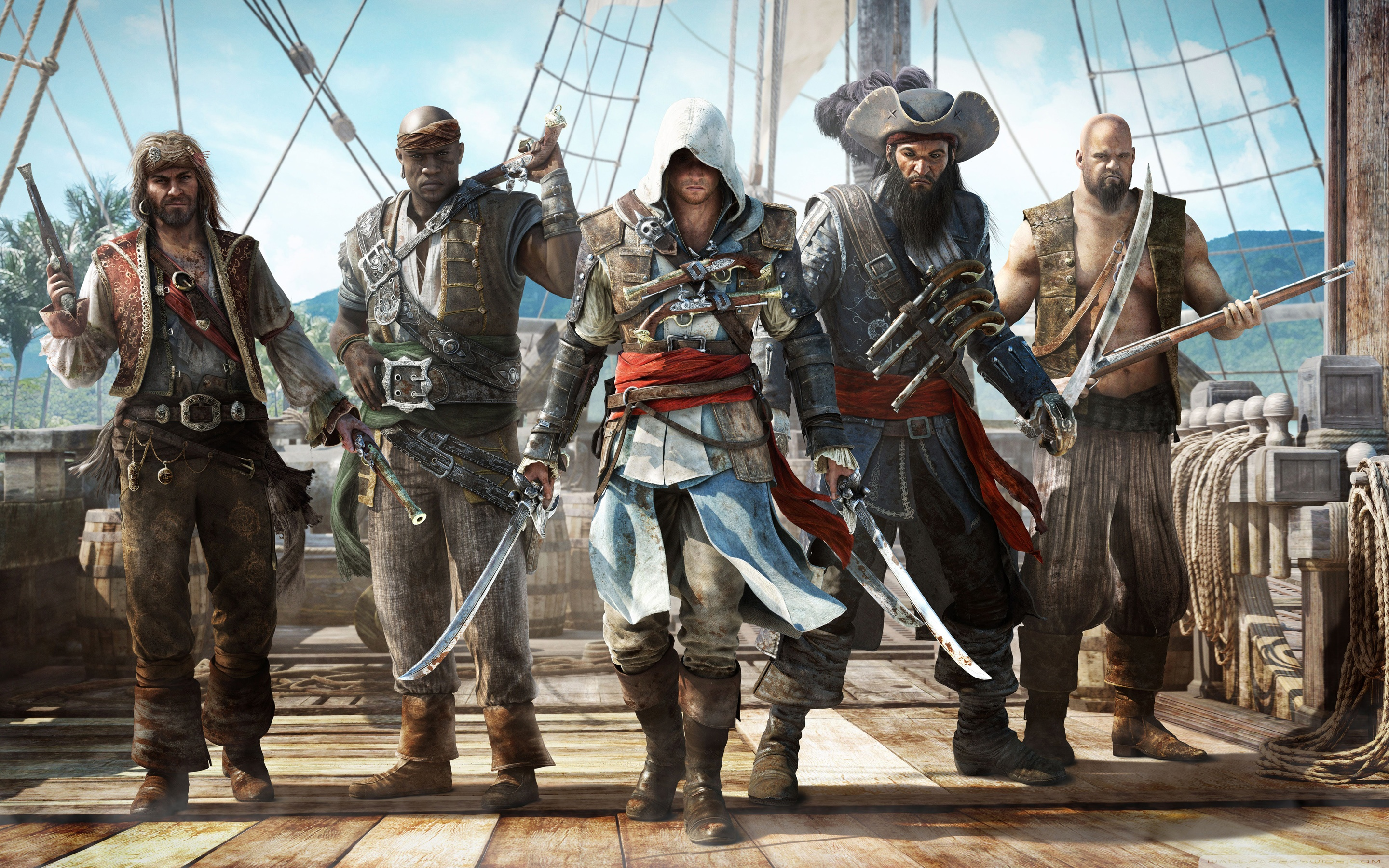 Ac4 Black Flag Wallpaper 30 Background Pictures 2880x1800