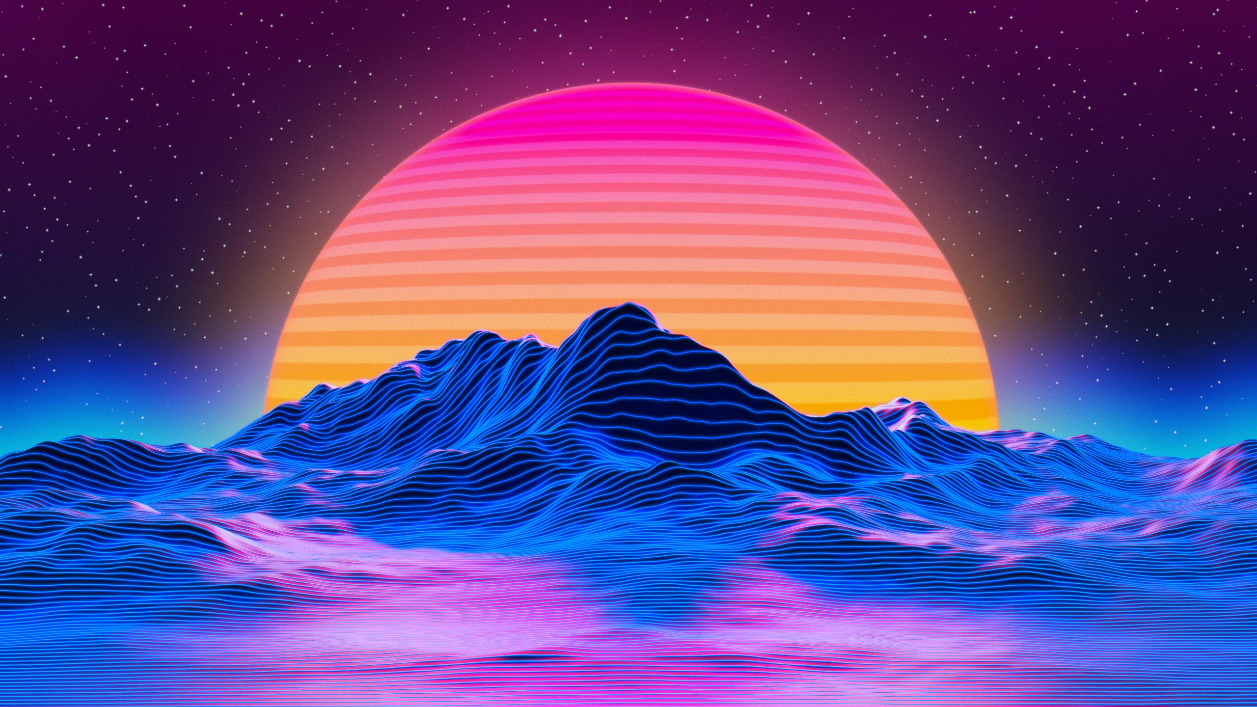 Retro style wallpaper [2560x1440] Desktop wallpaper art 2560x1440