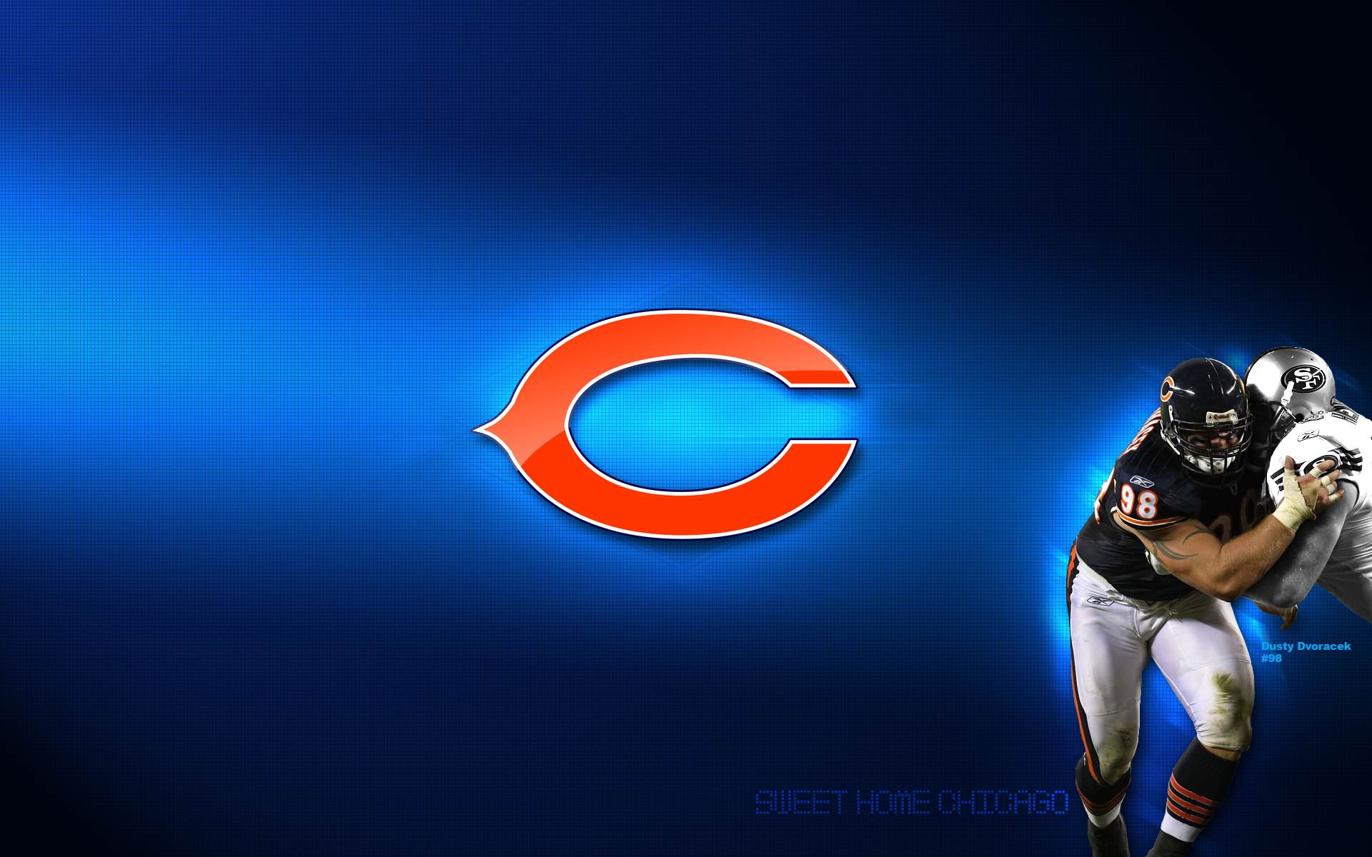 Chicago Bears Logo wallpaper 1920x1200