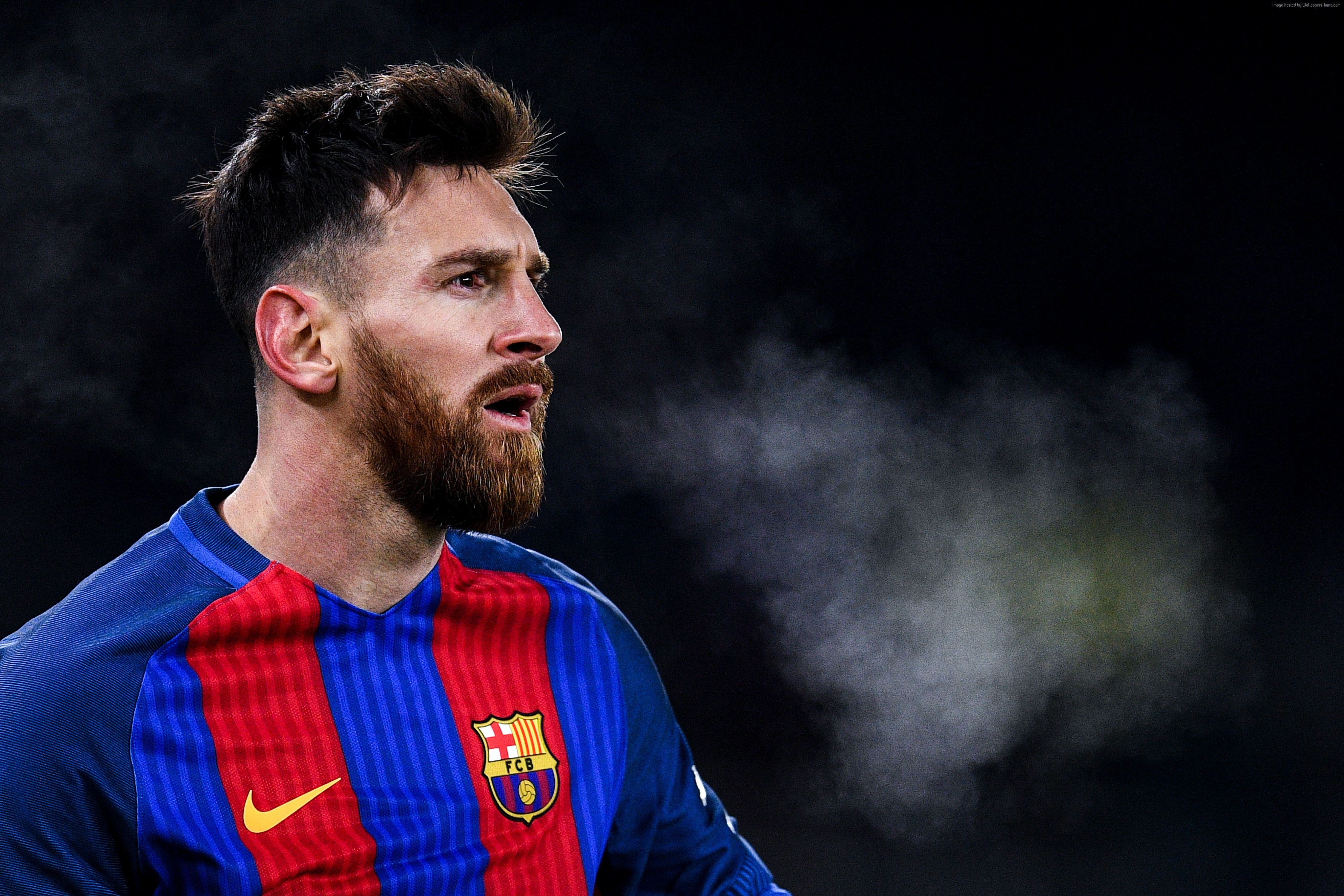 Wallpaper Lionel Messi Soccer Football The Best   Messi 2017 4500x3000