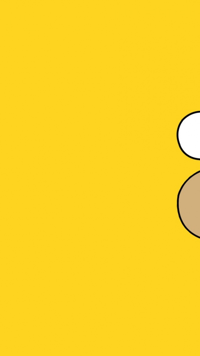 Free Download 640x1136 Homer Simpson Iphone 5 Wallpaper 640x1136