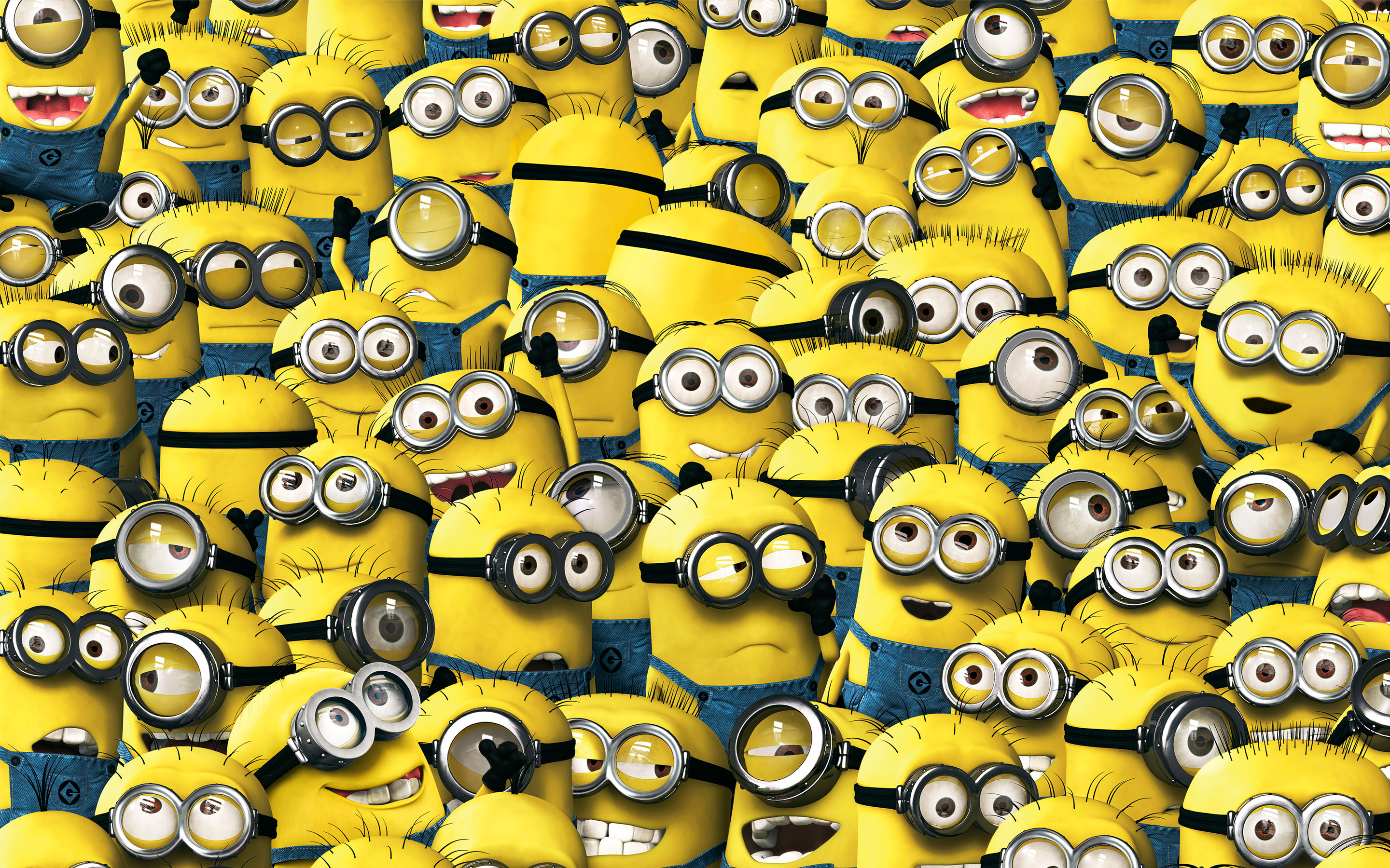 Minion wallpaper wallpapersafari - Despicable me minion screensaver ...