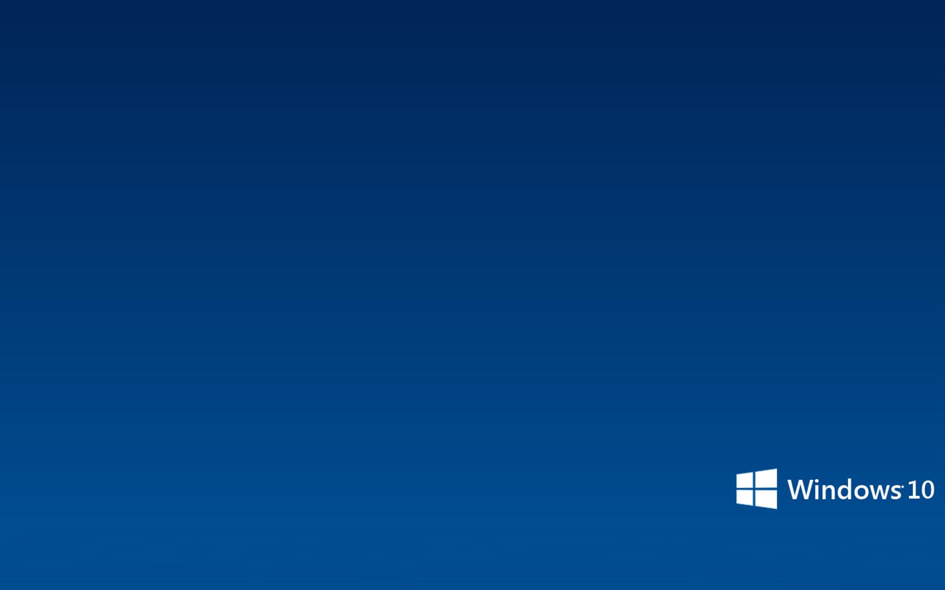 Simple Microsoft Windows 10 Wallpaper   Wallpapers 1920x1200